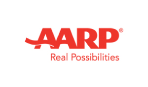 ImpressiveVoices Voice Over Agency Aarp Logo